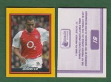 Arsenal Gilberto Brazil 19 (A)
